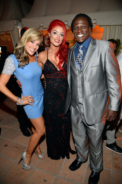 Arrivals at WWE's 'Superstars for Hope' Event — Part 2 [fashion,event,fun,suit,dress,fashion design,formal wear,party,costume,nightclub,lilian garcia,wrestler,wwe diva,eva marie,ron killings,superstars for hope,the beverly hills hotel,wwe,e entertainment,event]