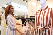 Eva Mendes visits the New York & Company Store on March 15, 2019 in Burbank, California.