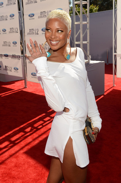 Eva Pigford Actress Eva Pigford arrives at the 2012 BET Awards at The ...