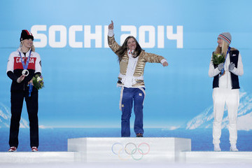 Eva Samkova Medal Ceremony - Winter Olympics Day 9