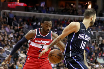 Evan Fournier Orlando Magic v Washington Wizards