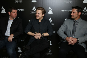 Evan Greene Grammy's Amplifier Center Stage Press Day