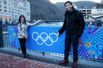 Evan Lysacek Olympic Athletes Pose for Portraits