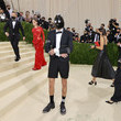 Evan Mock The 2021 Met Gala Celebrating In America: A Lexicon Of Fashion - Arrivals