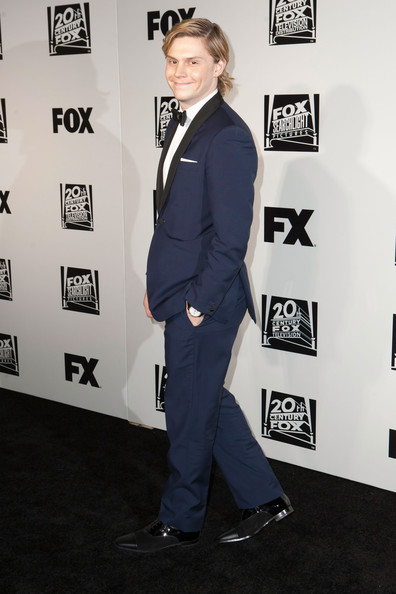 Evan Peters - Arrivals at Fox and FX's Golden Globes Afterparty