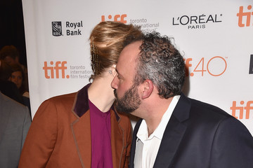 Evan Rachel Wood Aaron L. Gilbert 2015 Toronto International Film Festival - 'Into The Forest' Premiere
