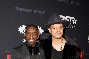Evan Ross BET's 'The New Edition Story' Premiere Screening