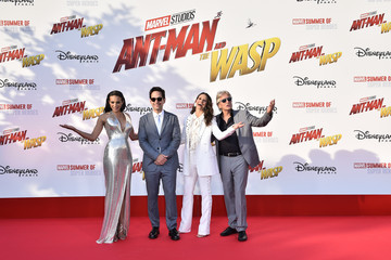 """Evangeline Lilly European Premiere of Marvel Studios """"Ant-Man And The Wasp"""""""