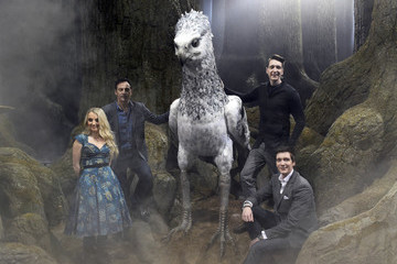 Evanna Lynch First Look At The Forbidden Forest At Warner Bros. Studio Tour London
