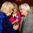 Eve Pollard The Duchess of Cornwall Attends The 'Women in Journalism' Reception