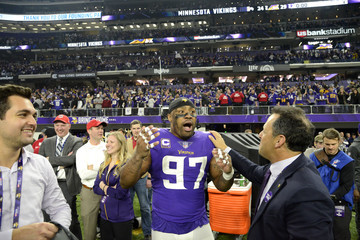 Everson Griffen Divisional Round - New Orleans Saints v Minnesota Vikings