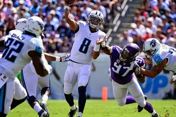 Everson Griffen Minnesota Vikings v Tennessee Titans