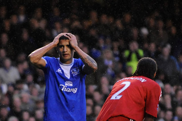 Tim Cahill Everton v Liverpool - Premier League