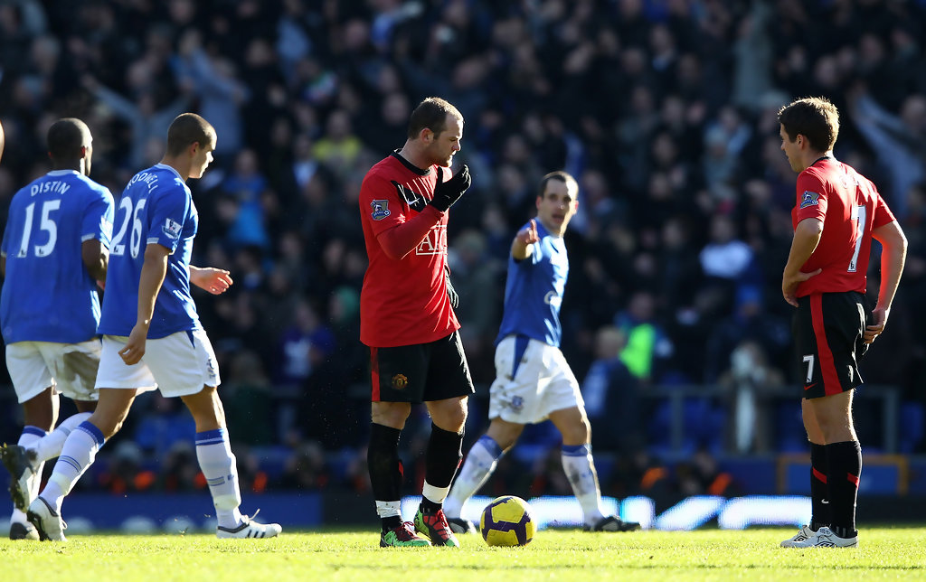 Wayne Rooney Vs Everton Wayne Rooney and Michael Owen Photos Everton v Manchester United