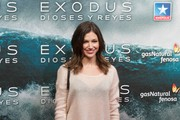 Spanish actress Ursula Corbero attends the 'Exodus Gods and Kings' (Exodus Dioses y Reyes) premiere at the Kinepolis cinema on December 4, 2014 in Madrid, Spain.