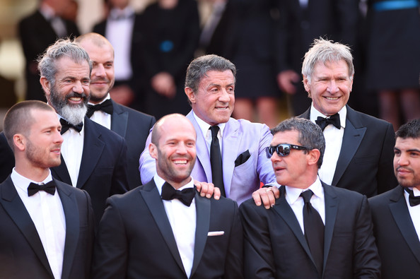 ¿Cuánto mide Antonio Banderas? - Altura - Real height Expendables+3+Premiere+67th+Annual+Cannes+FVjbCm3ee-Rl