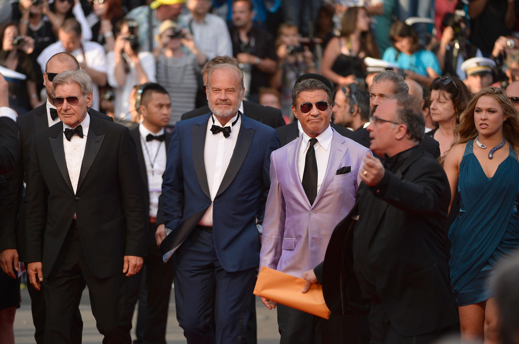 kelsey grammer in the expendables 3 premiere the 67th annual cannes film festival zimbio. Black Bedroom Furniture Sets. Home Design Ideas