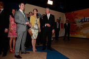 THR Prince Frederik of Denmark and Crown Princess Mary of Denmark visit at the Australia Pavilion at the 2012 Yeosu Expo on May 12, 2012 in Yeosu, South Korea. The Crown Prince and Crown Princess of Denmark are on a six-day visit to South Korea.