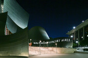 The Walt Disney Concert Hall at Night on July 26, 2017 in Los Angeles, California.