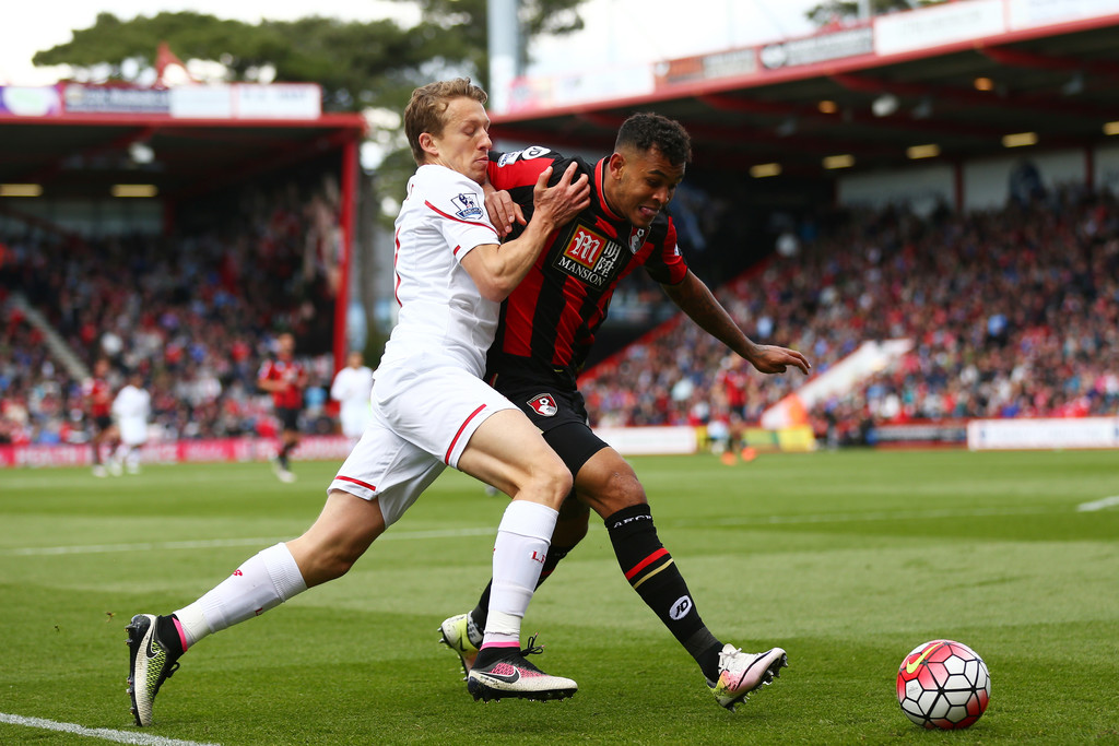 Bournemouth V Liverpool: Lucas Leiva In A.F.C. Bournemouth V Liverpool