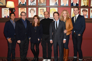 F. Murray Abraham Micah Stock 'It's Only a Play' Cast Photo Call