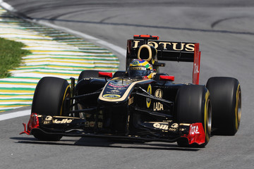 Bruno Senna F1 Grand Prix of Brazil - Practice