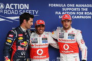 Jenson Button Mark Webber Photos Photo