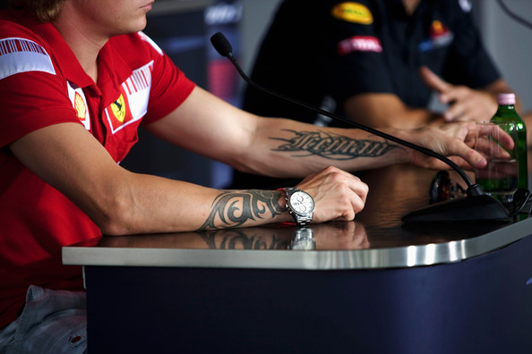Kimi Raikkonen of Finland and Ferrari attends the drivers press conference during previews to the the Hungarian Formula One Grand Prix at the Hungaroring on July 23, 2009 in Budapest, Hungary.