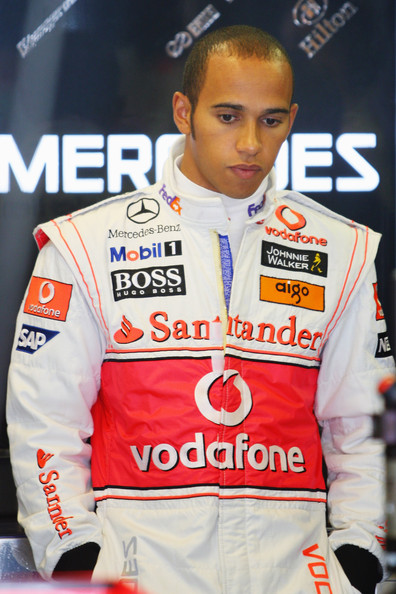 Lewis Hamilton of Great Britain and McLaren Mercedes prepares to drive during qualifying for the Hungarian Formula One Grand Prix at the Hungaroring on July 25, 2009 in Budapest, Hungary.