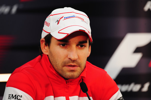 Timo Glock of Germany and Toyota attends the drivers press conference during previews to the Japanese Formula One Grand Prix at Suzuka Circuit on October 1, 2009 in Suzuka, Japan.