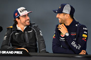 Fernando Alonso and Daniel Ricciardo Photos Photo