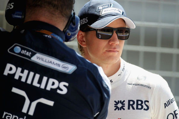 Nico Huelkenburg of Germany and Williams prepares to drive during practice for the Turkish Formula One Grand Prix at Istanbul Park on May 28, 2010, in Istanbul, Turkey.