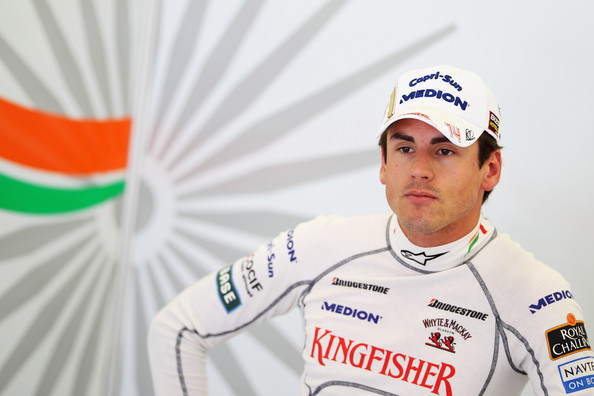 Adrian Sutil of Germany and Force India prepares to drive during practice for the Turkish Formula One Grand Prix at Istanbul Park on May 28, 2010, in Istanbul, Turkey.