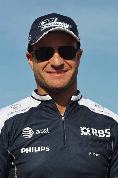 Rubens Barrichello of Brazil and Williams walks in the paddock following qualifying for the Turkish Formula One Grand Prix at Istanbul Park on May 29, 2010, in Istanbul, Turkey.