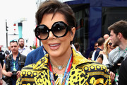 Kris Jenner in the Paddock before the Monaco Formula One Grand Prix at Circuit de Monaco on May 27, 2018 in Monte-Carlo, Monaco.