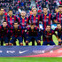 Sergio Busquets Claudio Bravo Photos - Players of FC Barcelona pose for a team photo before the La Liga match between FC Barcelona and RCD Espanyol at Camp Nou on December 7, 2014 in Barcelona, Spain. - FC Barcelona v RCD Espanyol - La Liga