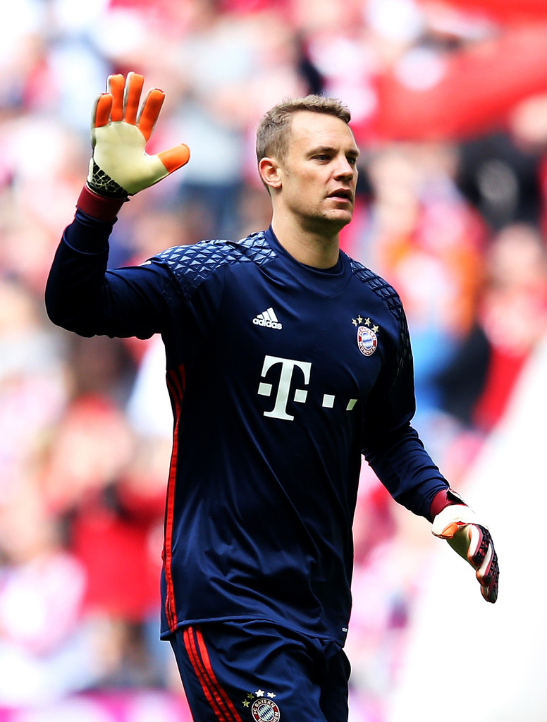 manuel neuer photos photos fc bayern muenchen v hannover 96 bundesliga zimbio. Black Bedroom Furniture Sets. Home Design Ideas