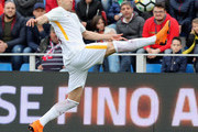 Stephan El Shaarawy of Roma controls the ball during the serie A match between FC Crotone and AS Roma at Stadio Comunale Ezio Scida on March 18, 2018 in Crotone, Italy.