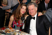 Actors Jessica Biel (L) and Bill Pullman (R) attend the 23rd Annual Critics' Choice Awards on January 11, 2018 in Santa Monica, California.