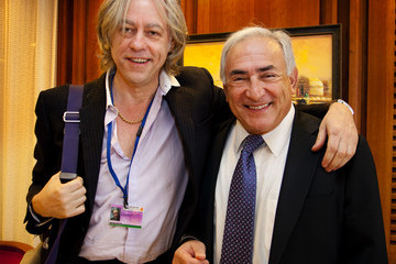 Bob Geldoff In Profile: Former IMF Head Dominique Strauss-Kahn