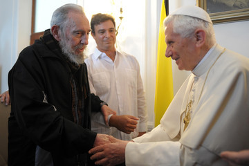Fidel Castro (FILE) In Profile: Pope Benedict XVI