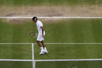 Roger Federer Andy Murray (FILE) QEII Chronology: Britain 2010 To Present Day