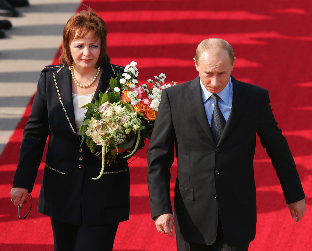 Russian president divorce his wife
