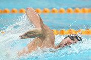Pieter Timmers of Belgium competes in the Men's 200m freestyle on day two of the FINA swimming world cup 2016 at Water Cube on October 1, 2016 in Beijing, China.