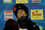 Torah Bright  of Australia smiles during the Women's Halfpipe Final of the FIS Freestyle Ski and Snowboard World Championship 2015 on January 17, 2015 in Kreischberg, Austria.