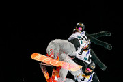 (FRANCE OUT) Torah Bright of Australia competes during the FIS Snowboard World Championships Men's and Women's Halfpipe on January 17, 2015 in Kreischberg, Austria.