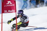 Tessa Worley of France competes during the FIS Alpine Ski World Championships Nation Team Event on February 14, 2017 in St. Moritz, Switzerland