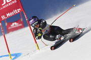 Tessa Worley of France in action during the FIS Alpine Ski World Championships Women's Giant Slalom on February 16, 2017 in St. Moritz, Switzerland