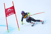 Tessa Worley of France competes during the Women's Super G during the FIS Alpine World Ski Championships on February 7, 2017 in St Moritz, Switzerland.