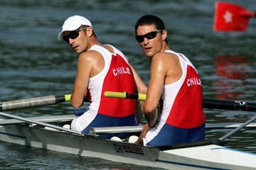 Miguel Cerda Silva FISA Rowing World Cup - Day Two